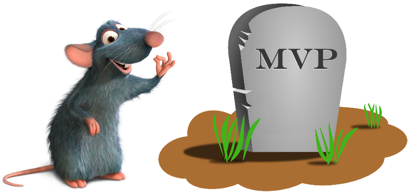 The MVP is dead. Long live the RAT