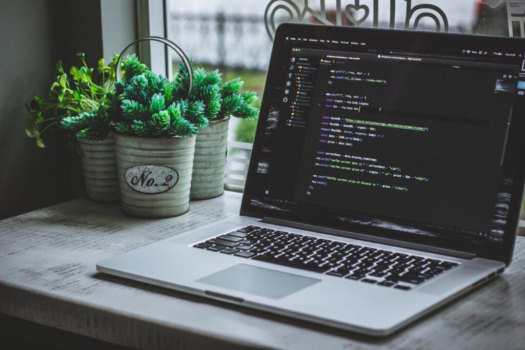 technology staff augmentation - coding - laptop